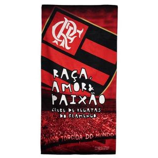 Toalha De Banho Bouton Veludo Flamengo