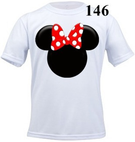 Camiseta Infantil Personalizada Minnie