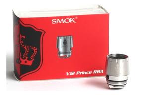 Smok Tfv12 Prince Kit Rba Coil Resistência Bobina