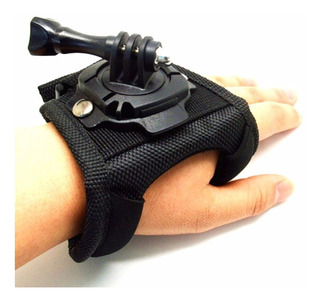 Suporte Para Mão 360 Graus Luva Pulso Gopro Hero Acessórios