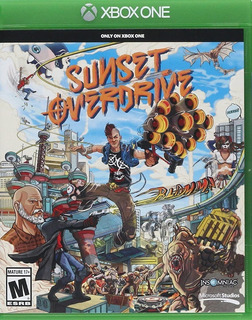 Sunset Overdrive Xbox One Nuevo Sellado Delivery Stock Ya