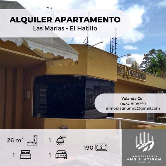 Inmobiliaria Amg Platinum Alquila Apartamento Tipo Estudio