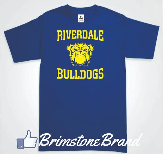Playera Riverdale Bulldogs 2 Envio Gratis