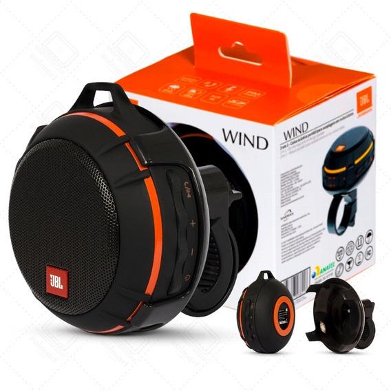 Caixa De Som Bluetooth Jbl Wind Original Nota Para Moto Bike