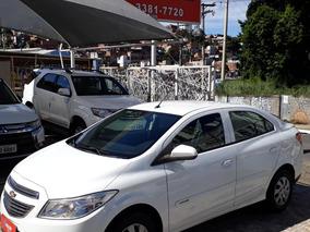 Chevrolet Prisma 1.0 Lt 2015 Branco Couro My Link Unico Dono