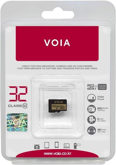 Cartão De Memória Micro Sd 32 Gb Classe 10 Rápido Novo Garan