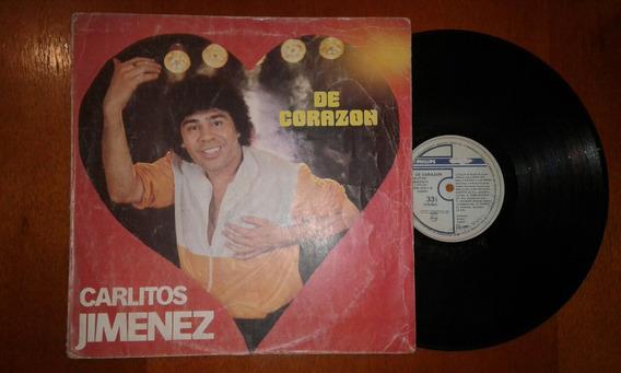 Disco Vinilo Carlitos La Mona Jimenez De Corazón