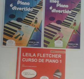 Meu Piano É Divertido V 1 & 2 + Curso Leila Fletcher V1
