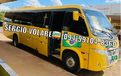 Imagem 1 de 9 de Micro Ônibus Volare Wl Executivo Ano 2018/2019 Cor Amarela