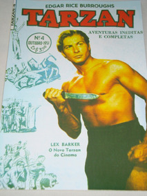 Tarzan Nº 4 De 1951 Ebal Lex Barker Na Capa Veja Descrição