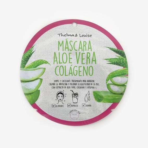 Mascara Facial C/colageno Aloe Vera Cuidado Personal Morph