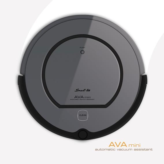 Aspiradora Robot Smart-tek Ava Mini Inteligente Con Base