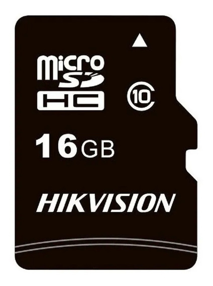 Cartão Memória Micro Sd Hikvision 16gb Class 10 Hs-tf-c1