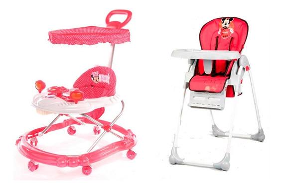 Silla De Comer 312 Posic + Andador Juegos Sonidos Babymovil