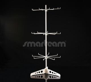 Exhibidor Bijouterie Giratorio Mostrador Alt 80cm 3 Niveles