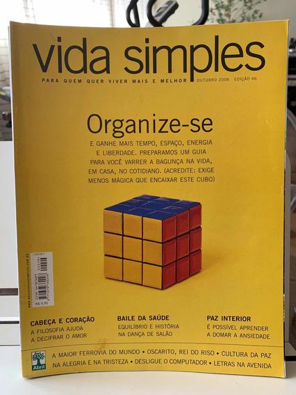 Revista Vida Simples Ed 46 Outubro 2006 Organize-se