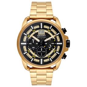 Relógio Orient Analógico Cronógrafo Masculino Mgssc031