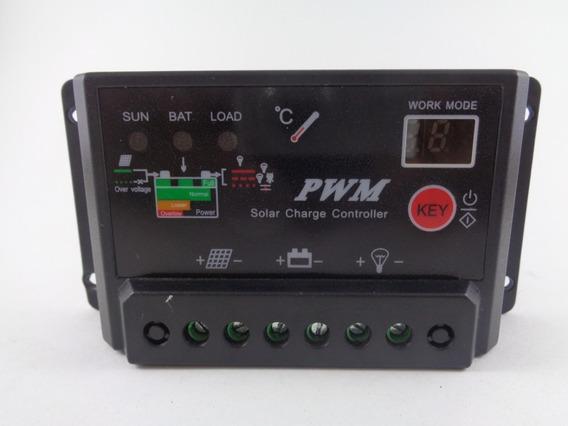 Controladora De Carga Painéis Solares 30a Pwm.