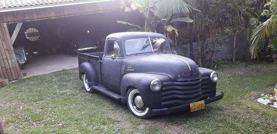 Chevrolet 3100 1951 Boca De Sapo 51 Motor 6 Cilindros