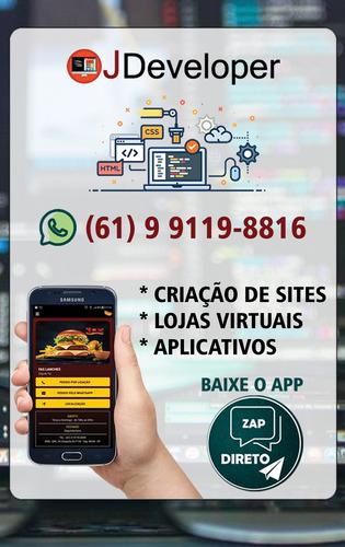 Criamos Sites, Lojas Virtuais E Aplicativos