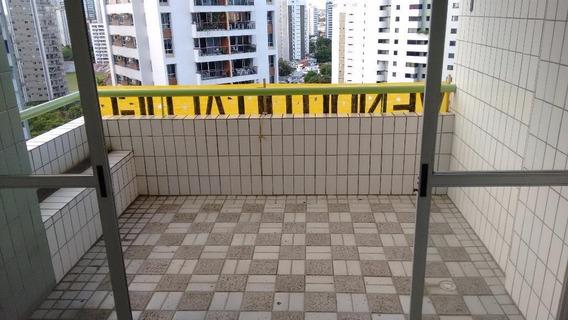Apartamento Em Espinheiro, Recife/pe De 141m² 4 Quartos Para Locação R$ 2.500,00/mes - Ap291204