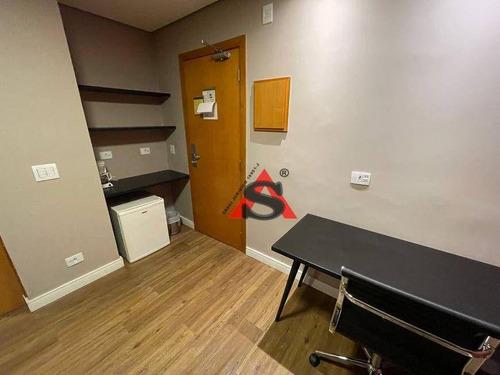 Imagem 1 de 19 de Flat Com 1 Dormitório À Venda, 27 M² Por R$ 300.000,00 - Paraíso - São Paulo/sp - Fl0160