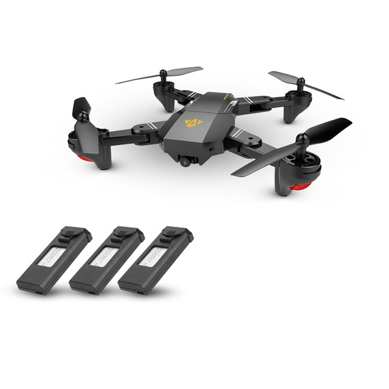 Drone Visuo Xs809hw Plegable Con Wifi