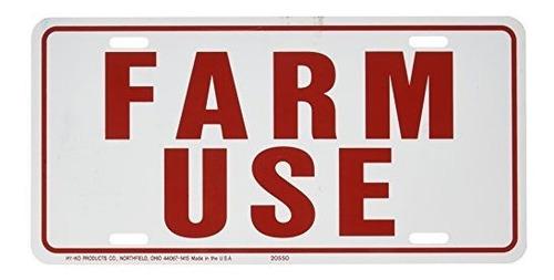 Etiqueta De Identificacion De Uso Agricola Hyko White