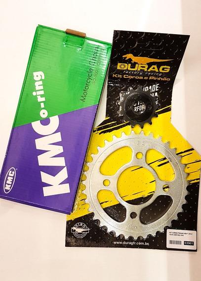 Kit Relação Completo Retentor Dafra Next 250 Durag/kmc 2012+