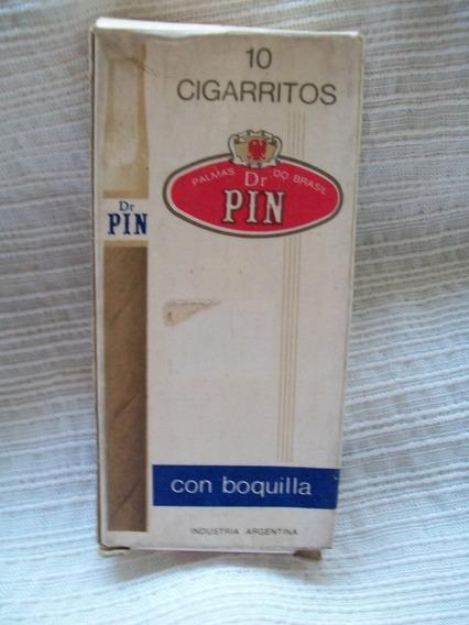10 Cigarritos Dr.pin Con Boquilla (caja Vacía )