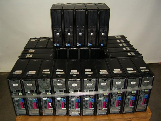 Cpu Dell Optiples 755 Computador C Monitor Completo 15