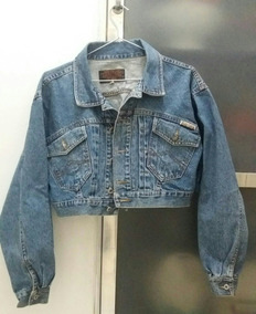 Jaqueta Cropped Jeans Vintage Anos 90