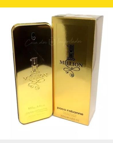 Perfume One Million 200ml Masculino Original Importado