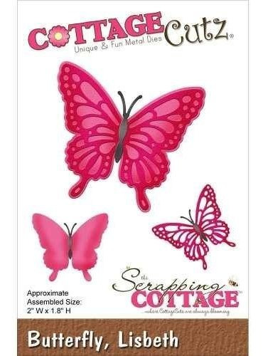 Troqueladora Lisbeth Butterfly Cottage Cutz