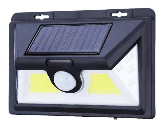 Luminária Solar 40 Led Com Sensor Movimento E Fotocelula