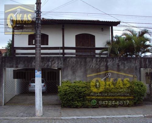 Imagem 1 de 1 de Sobrado Com 4 Dormitórios À Venda, 350 M² Por R$ 700.000,00 - Vila Amorim - Suzano/sp - So0099