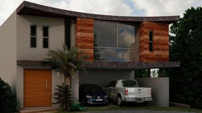 Casa De 2 Plantas, 3 Recamaras En Monterra