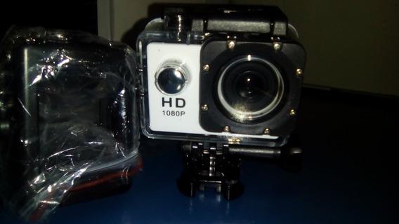 Câmera Filmadora Capacete Esporte Mergulho 1080p Moto Hd Dv