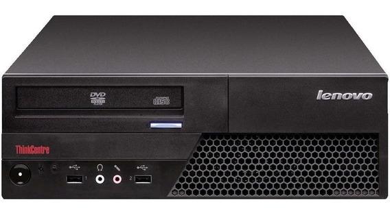 Cpu Desktop Lenovo C2d E8400 4gb 80gb Dvd Wifi Promoção