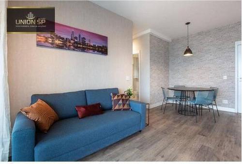 Imagem 1 de 17 de Apartamento À Venda, 76 M² Por R$ 1.200.000,00 - Chácara Santo Antônio - São Paulo/sp - Ap50882