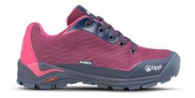 Zapato Niña Lippi Intense Hike Kids Low Frambuesa