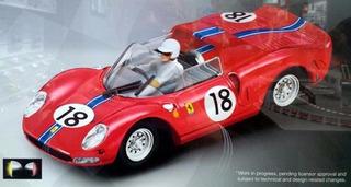 Auto Slot Carrera Ferrari 365 P2 Scalextric 1/32 Supertoys