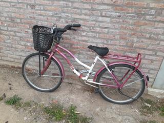 Vendo Bicicleta Ibiza Cruiser Rodado 24 Completa