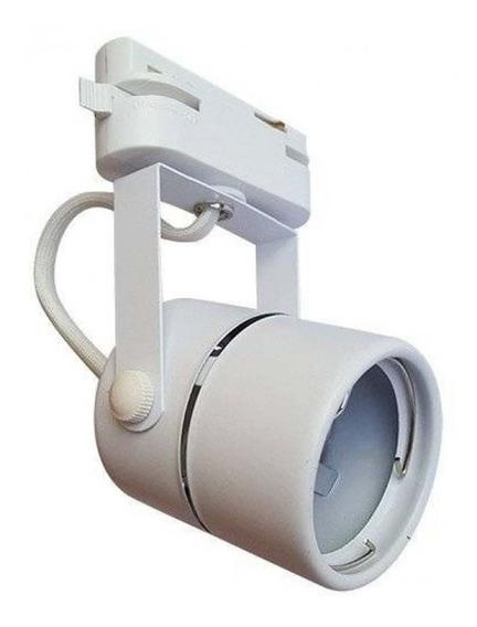 Spot Para Trilho Eletrificado Branco 1xdicroica Gu10 - Delis