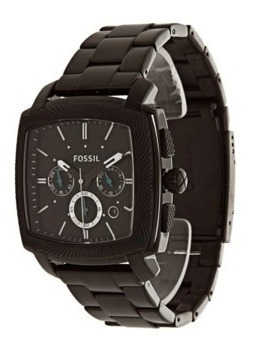 Relógio Fossil Masculino Preto Ffs4718z Original E Barato