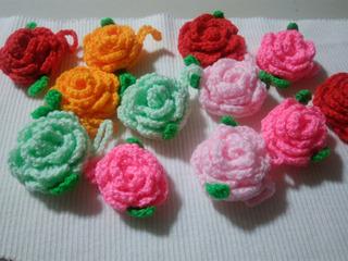 Flores Al Crochet .