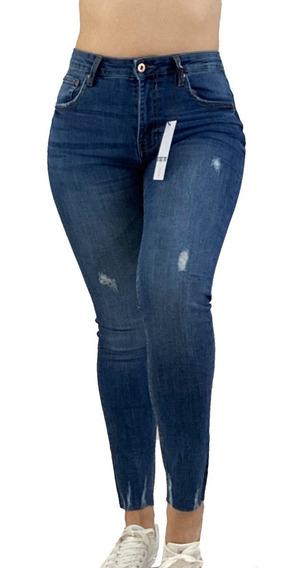 Jeans Para Dama Desgastados Mercadolibre Com Mx