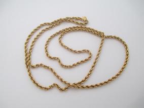 Lindo Cordão De Ouro 18k - 5.53 Gr - 64 Cm