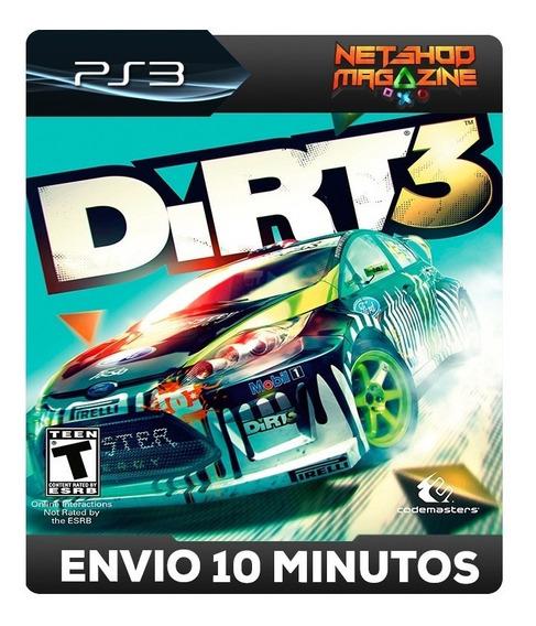 Dirt 3 - Psn Ps3 - Envio Imediato