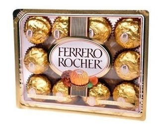 Caja Chocolates Ferrero Rocher De 20 Paquetes Con 12 Piezas